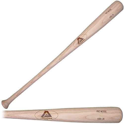 Akadema A581-33 Elite Professional Grade Adult Amish Wood Baseball Bat 33 Inch - Akadema - Dropship Direct Wholesale