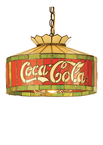 16 Inch W Coca-cola Pendant - Meyda - Dropship Direct Wholesale