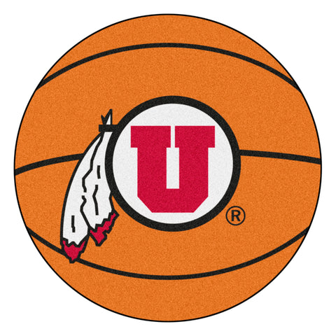 University of Utah Basketball Mat 27 diameter