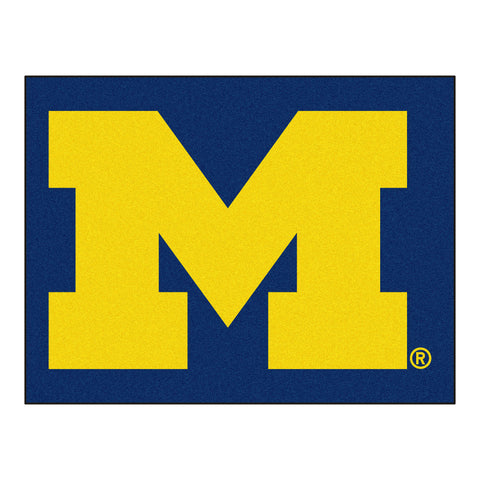 University of Michigan All-Star Mat 33.75x42.5 - FANMATS - Dropship Direct Wholesale