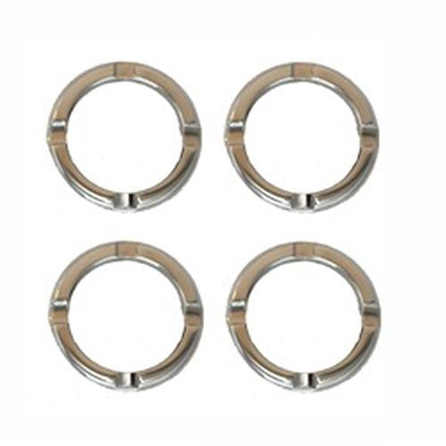 All Sales A/C Vents - Bezels Only Set of 4 Chrome - AMI - Dropship Direct Wholesale