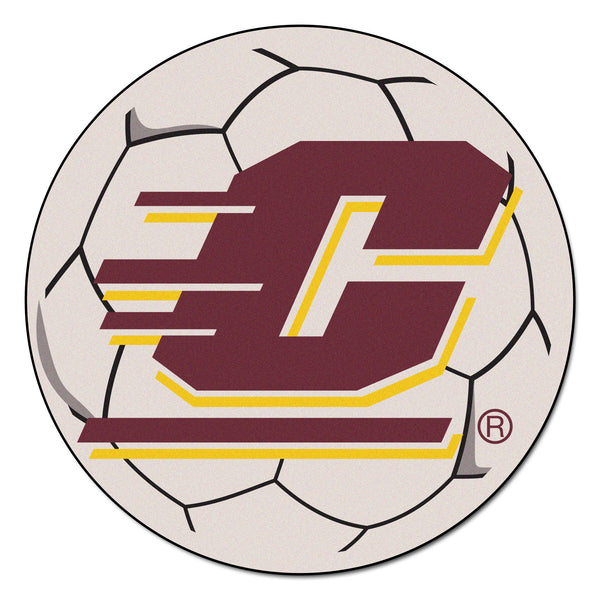 Central Michigan University Soccer Ball - FANMATS - Dropship Direct Wholesale