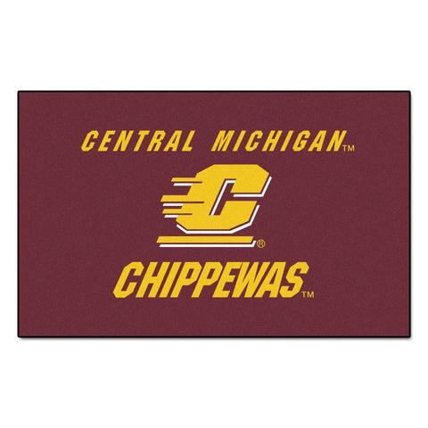 Central Michigan University Ulti-Mat 5x8 - FANMATS - Dropship Direct Wholesale