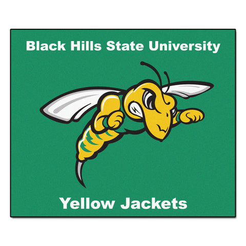 Black Hills State Tailgater Rug 5x6 - FANMATS - Dropship Direct Wholesale