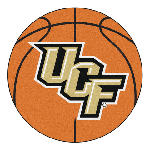 UCF Basketball Mat 27 diameter