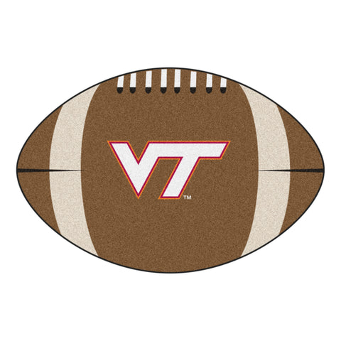 Virginia Tech Football Rug 20.5x32.5