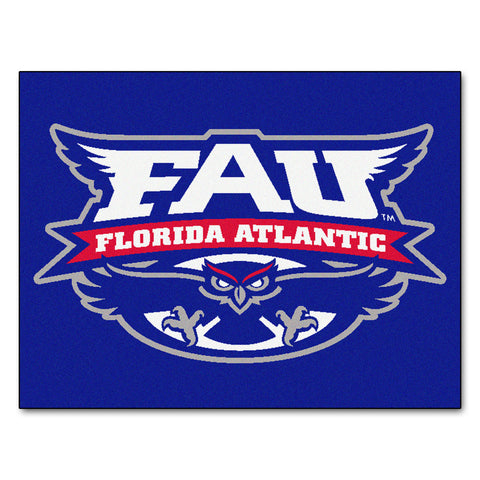 Florida Atlantic University All-Star Mat 33.75x42.5 - FANMATS - Dropship Direct Wholesale