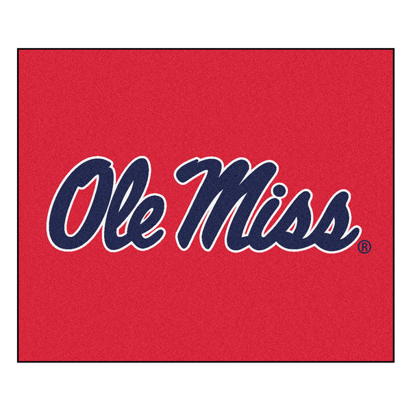 University of Mississippi Tailgater Rug 5x6 - FANMATS - Dropship Direct Wholesale