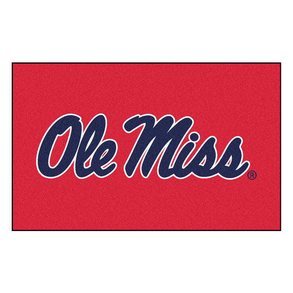 University of Mississippi Ulti-Mat 5x8 - FANMATS - Dropship Direct Wholesale