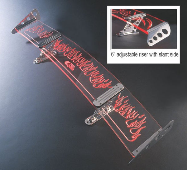 All Sales Slant Side 6 Adjustable Riser Flame - AMI - Dropship Direct Wholesale