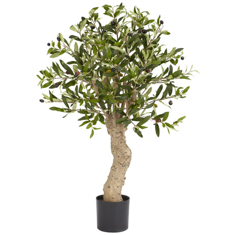 2.5ft Olive Silk Tree - Nearly Natural - Dropship Direct Wholesale