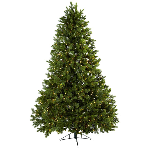 7.5ft Royal Grand Christmas Tree w/Clear Lights - Nearly Natural - Dropship Direct Wholesale