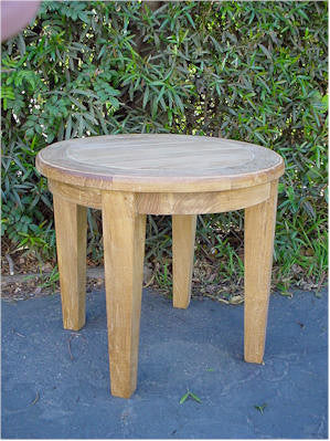 TB106 Brianna 20-Inch Round Side Table - Anderson Teak - Dropship Direct Wholesale