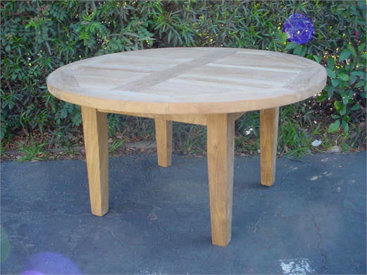 TB107 Brianna 35-Inch Round Coffee Table - Anderson Teak - Dropship Direct Wholesale