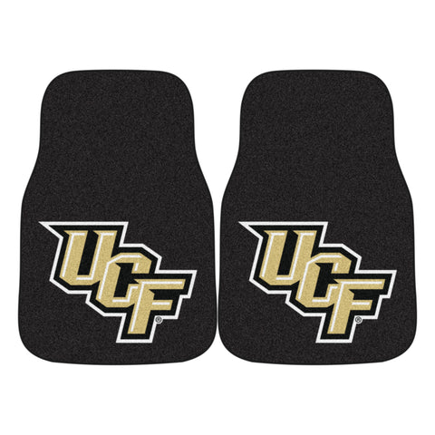 UCF 2-piece Carpeted Car Mats 17x27