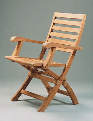 CHF109 Andrew Folding Armchair - Anderson Teak - Dropship Direct Wholesale