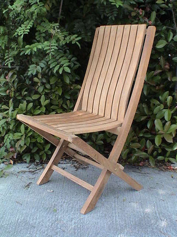 CHF301 Comfort Folding Chair - Anderson Teak - Dropship Direct Wholesale