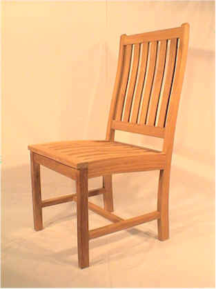 CHD113 Wilshire Side Chair - Anderson Teak - Dropship Direct Wholesale