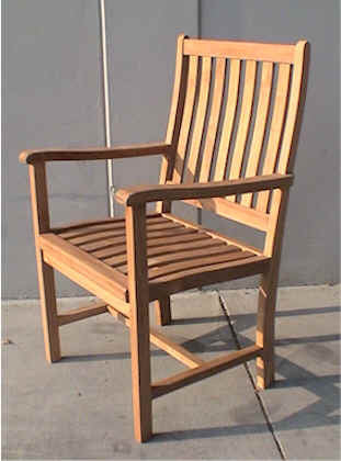 CHD114 Wilshire Armchair - Anderson Teak - Dropship Direct Wholesale