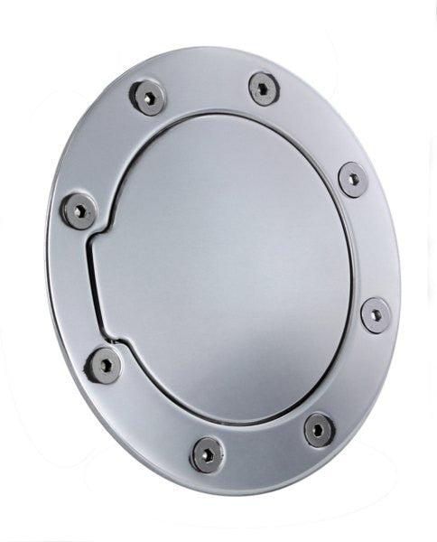 All Sales Race Style Billet Fuel Dr 7 3/8 Ring O.D. 5 1/8 Door O.D. -Polished - AMI - Dropship Direct Wholesale