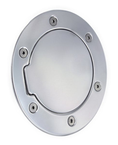 All Sales Race Style Billet Fuel Dr 7 1/8 Ring O.D. 5 1/8 Door O.D. -Polished - AMI - Dropship Direct Wholesale