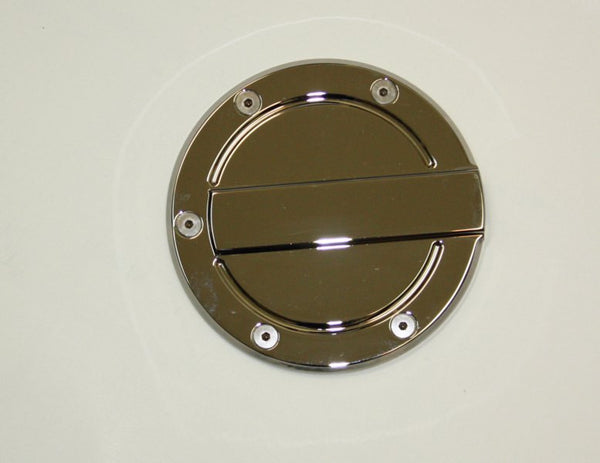 All Sales Race Style Billet Fuel Dr 6 1/4 Ring O.D. No Door-Brushed Chrome - AMI - Dropship Direct Wholesale