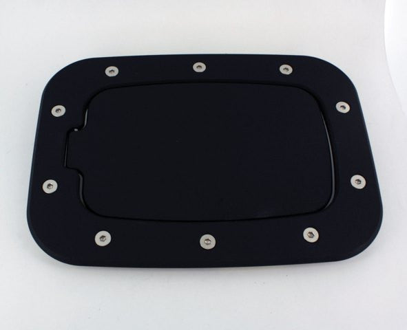 All Sales Race Style Billet Fuel Dr 10 3/8 X 7 5/8 Ring 8 X 4 5/8 Door -Flat black Ring and Door - AMI - Dropship Direct Wholesale