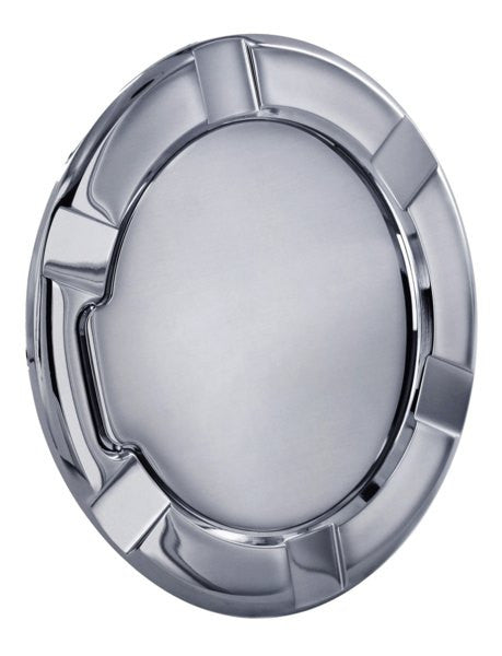 All Sales Striker Style Billet Fuel Dr 7 1/8 Ring O.D. 5 1/8 Door O.D. -Chrome - AMI - Dropship Direct Wholesale