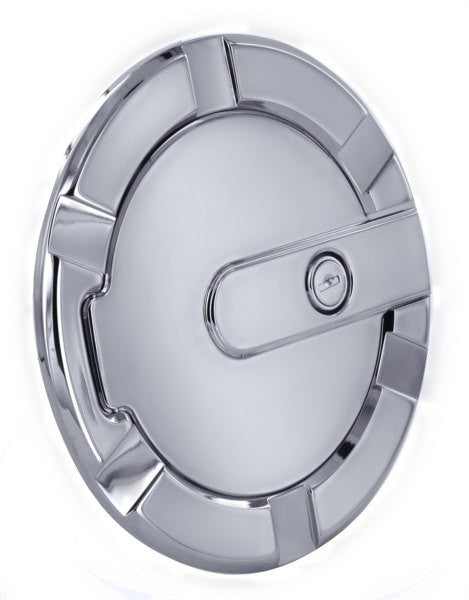 All Sales Striker Style Billet Fuel Dr 7 1/8 Ring O.D. 5 1/8 Door O.D. -Chrome Locking - AMI - Dropship Direct Wholesale