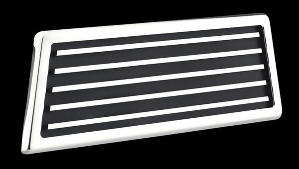 All Sales Hood Vent Grille\s Pair -Polished - AMI - Dropship Direct Wholesale