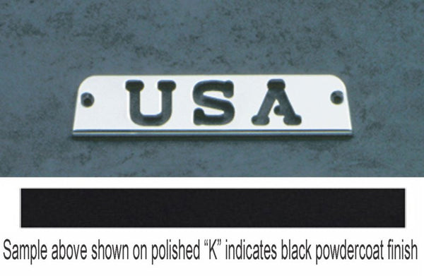 All Sales USA 3rd Brake Light Cover-Black Powdercoat - AMI - Dropship Direct Wholesale