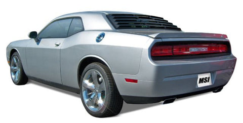 2008-2013 Dodge Challenger ABS Rear Window Louver - Mach-Speed - Dropship Direct Wholesale