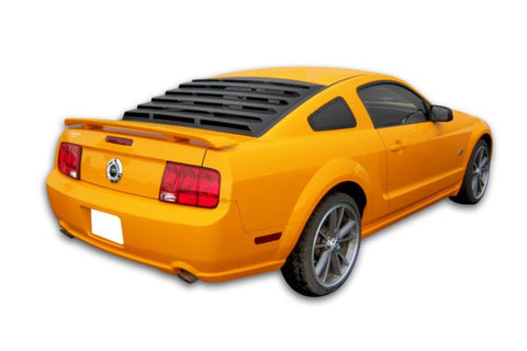 2005-2014 Ford Mustang ABS Rear Window Louver - Mach-Speed - Dropship Direct Wholesale