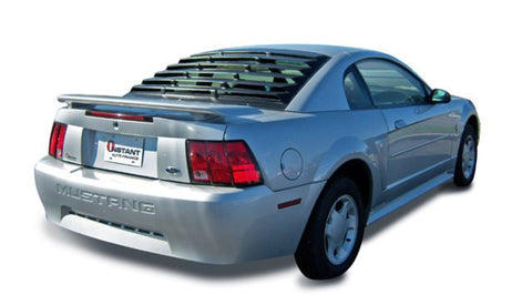 1994-2004 Ford Mustang Coupe ABS Rear Louver - Mach-Speed - Dropship Direct Wholesale