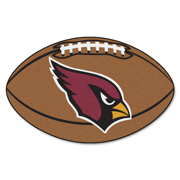"NFL - Arizona Cardinals Football Rug 20.5""x32.5"" - FANMATS - Dropship Direct Wholesale"