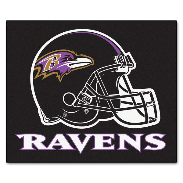 Baltimore Ravens Tailgater Rug 5x6 - FANMATS - Dropship Direct Wholesale