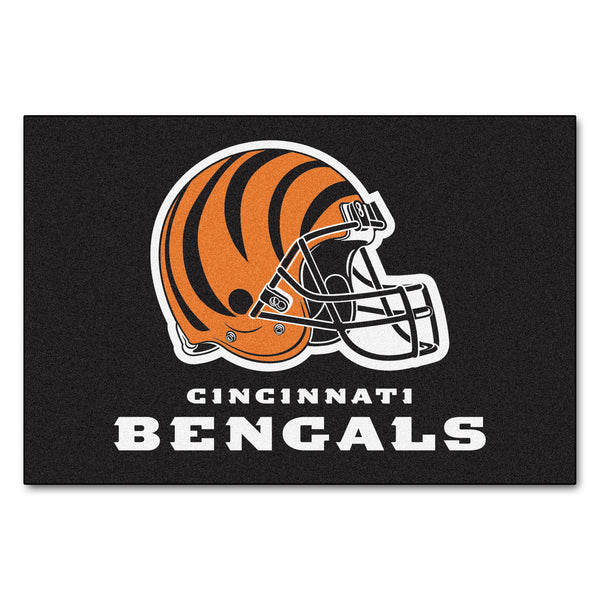 Cincinnati Bengals Starter Rug 20x30 - FANMATS - Dropship Direct Wholesale