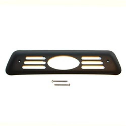 All Sales Oval 3rd Brake Light Cover-Black Powdercoat - AMI - Dropship Direct Wholesale