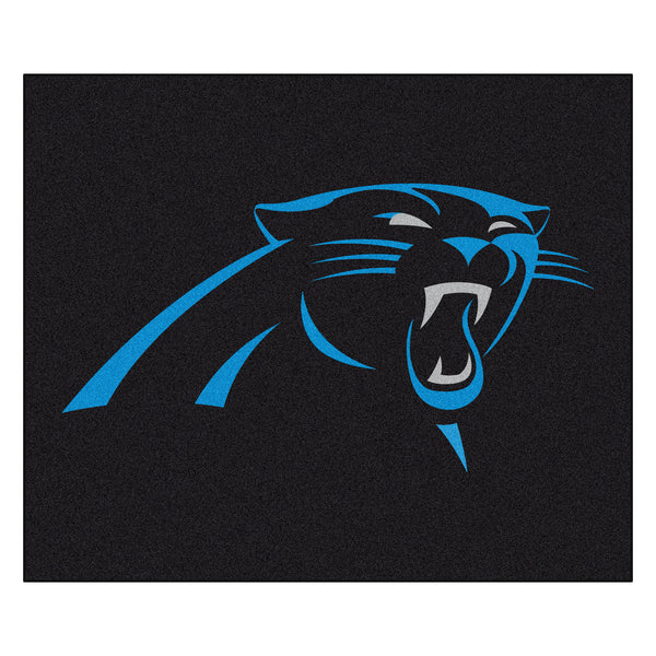 Carolina Panthers Tailgater Rug 5x6 - FANMATS - Dropship Direct Wholesale