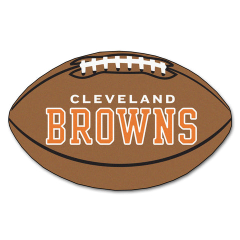 Cleveland Browns Football Rug 20.5x32.5 - FANMATS - Dropship Direct Wholesale