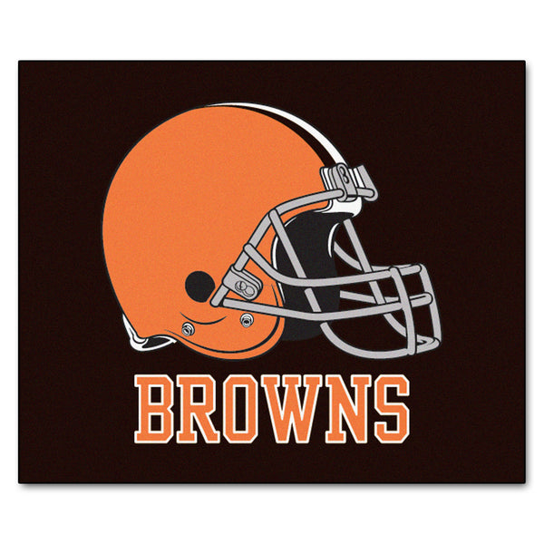 Cleveland Browns Tailgater Rug 5x6 - FANMATS - Dropship Direct Wholesale