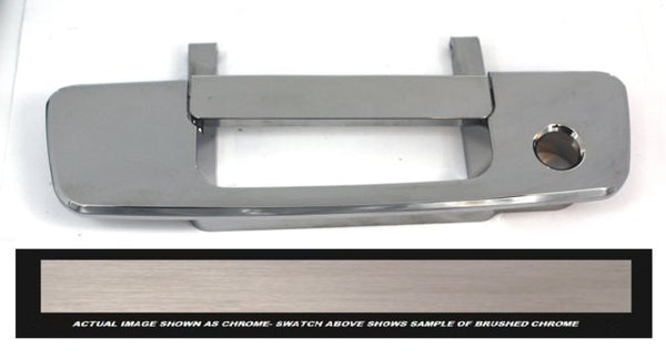 All Sales Brush Chrome Tailgate handle w/ Lock - AMI - Dropship Direct Wholesale