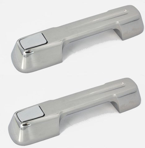 All Sales Chrome LH & RH Ball-Milled (same handle for front/rear doors) - AMI - Dropship Direct Wholesale