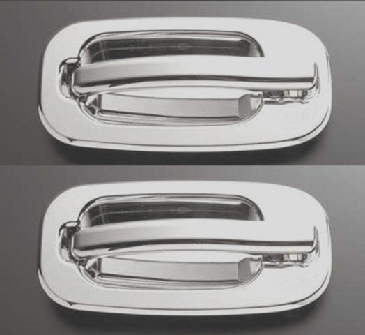 All Sales Chrome LH & RH w/o Lock Rear Doors - AMI - Dropship Direct Wholesale