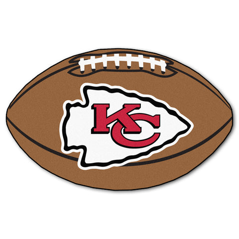 Kansas City Chiefs Football Rug 20.5x32.5 - FANMATS - Dropship Direct Wholesale