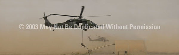 Window Graphic - 20x65 Heli-Rescue - ClearVue Graphics - Dropship Direct Wholesale