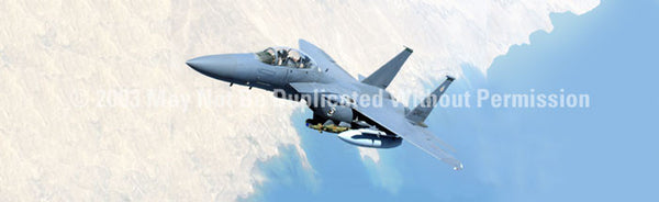 Window Graphic - 20x65 Strike Eagle - ClearVue Graphics - Dropship Direct Wholesale