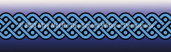Window Graphic - 16x54 Celtic 4 - ClearVue Graphics - Dropship Direct Wholesale