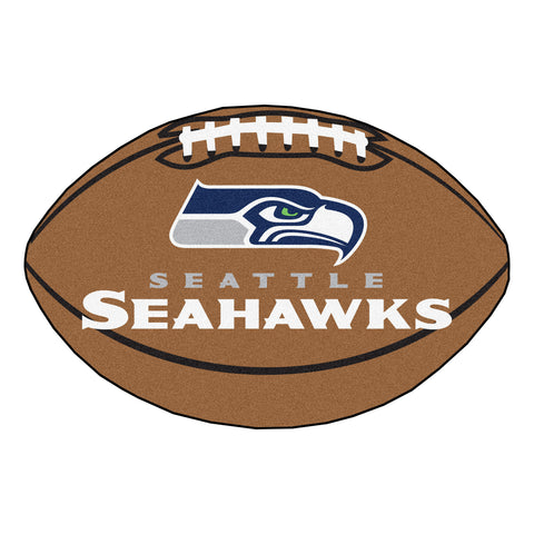 Seattle Seahawks Football Rug 20.5x32.5 - FANMATS - Dropship Direct Wholesale