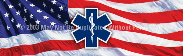 Window Graphic - 20x65 Emergency Medical Technician - ClearVue Graphics - Dropship Direct Wholesale